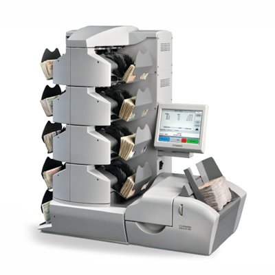 Multi-pocket currency sorter JetScan iFX 400