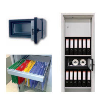 KASO PKE1 seifų serija dokumentams ir pinigams
