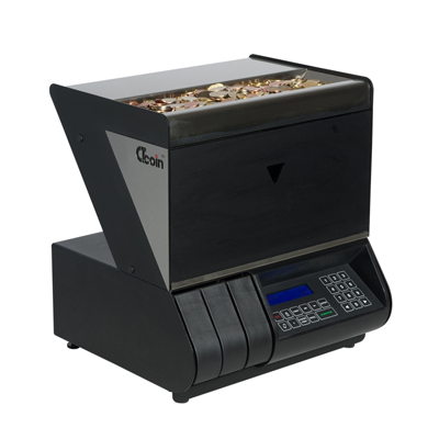 Coin mixture value counter Zebra 301