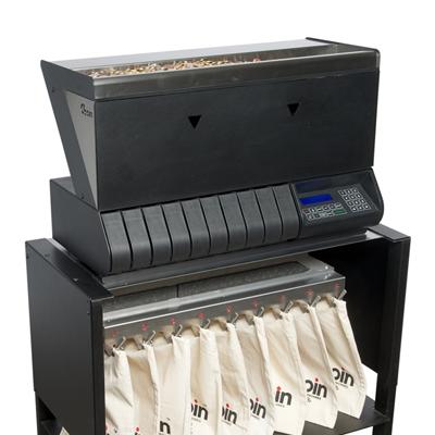 Monetų skaičiavimo ir rūšiavimo mašina Zebra309
