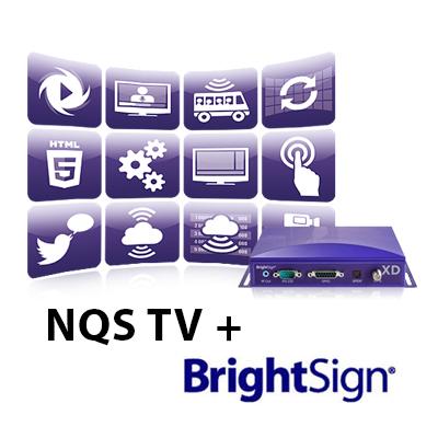 "NQS TV ""Digital Signage"" sprendimas"