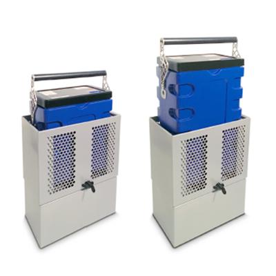 Q-Rack rakinamas stovas Q-Case lagaminams