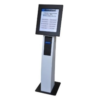 Bilietų terminalai su jautriuoju ekranu