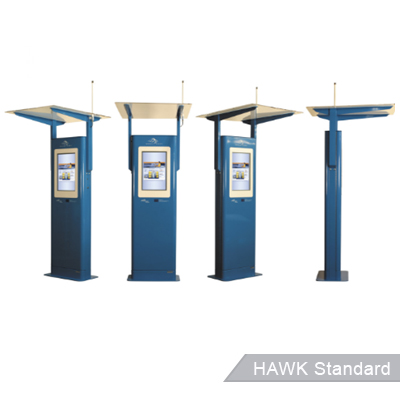 Outdoor information kiosks