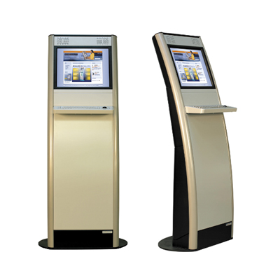 Indoor information kiosks