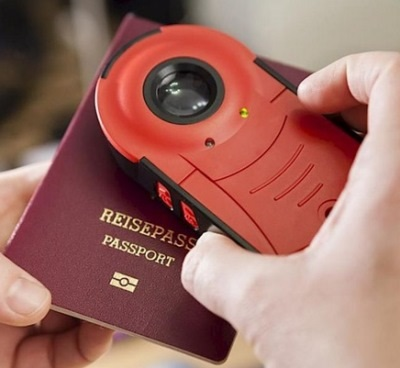 Handheld document checker Doculus Lumus®